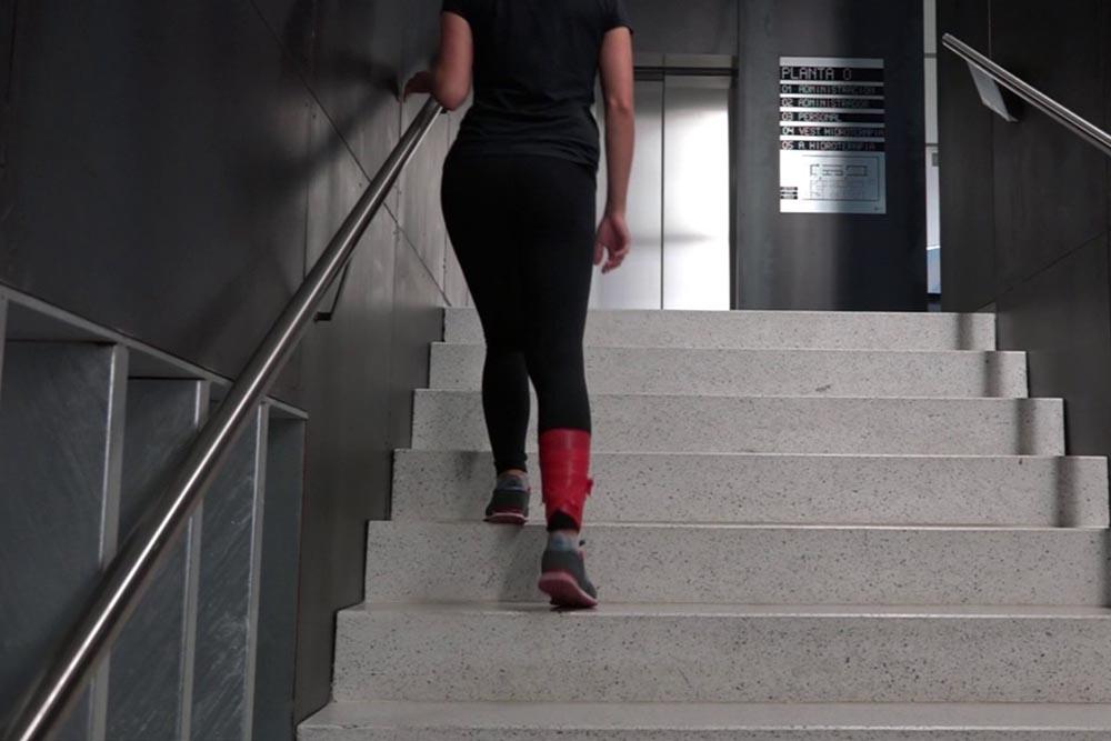 Porque debes subir siempre escaleras